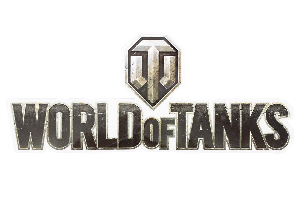 Наклейка логотип World of Tanks 101301 наклейка логотип world of tanks 101301