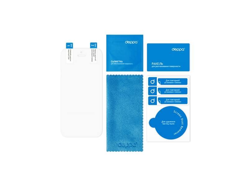 Защитная пленка Deppa для HTC Desire 700 прозрачная 61291 защитная пленка luxcase для htc desire 728 глянцевая