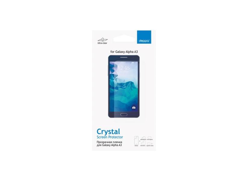 Защитная пленка Deppa для Samsung Galaxy Alpha A3 прозрачная 61364