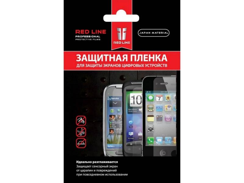 Пленка защитная Red Line для Alcatel One Touch POP S7 red line book type чехол для alcatel one touch 4034 pixi 4 pink