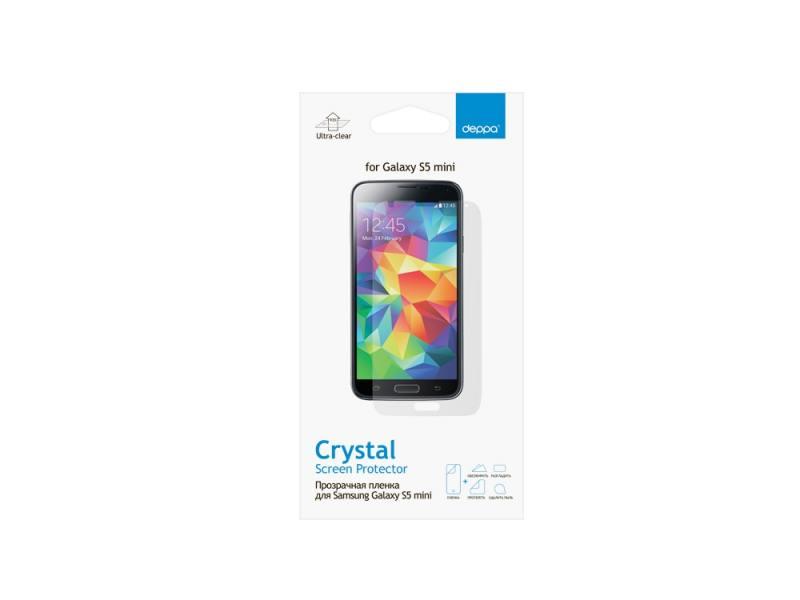 Защитная пленка Deppa для Samsung Galaxy S5 mini прозрачная 61349 стоимость
