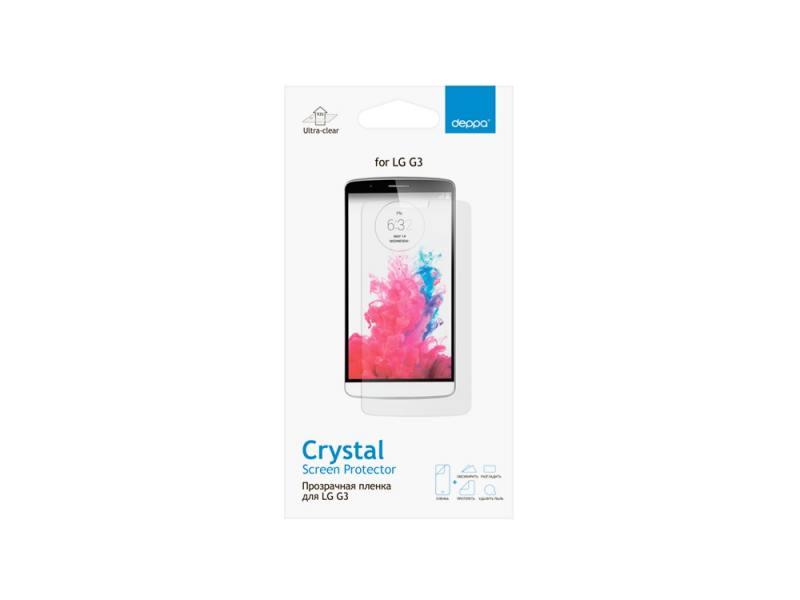 все цены на Защитная пленка Deppa для LG G3S прозрачная 61356