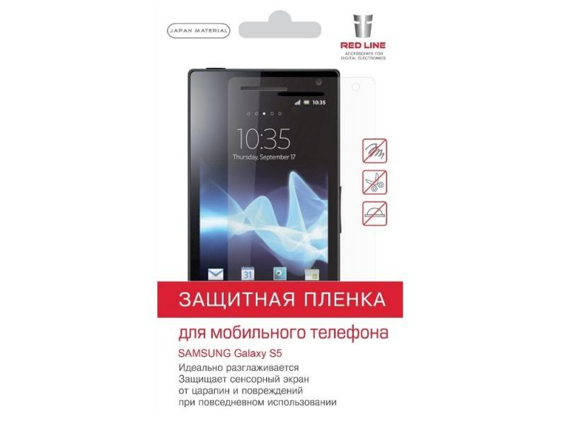 Пленка защитная Red Line для SAMSUNG Galaxy S5 цена
