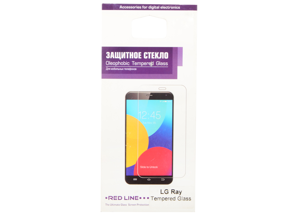 Защитное стекло Red Line для LG Ray tempered glass protective glass red line for lg q6 lg q6a lg q6