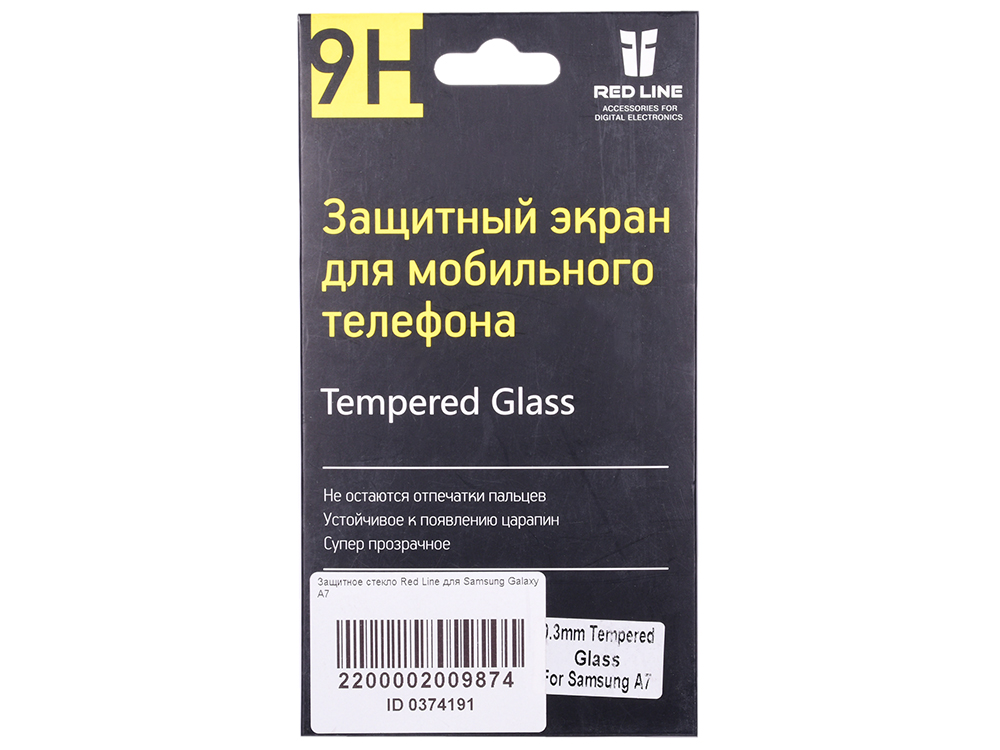 Защитное стекло Red Line для Samsung Galaxy A7 аксессуар защитное стекло для samsung gear s3 red line ут000010392
