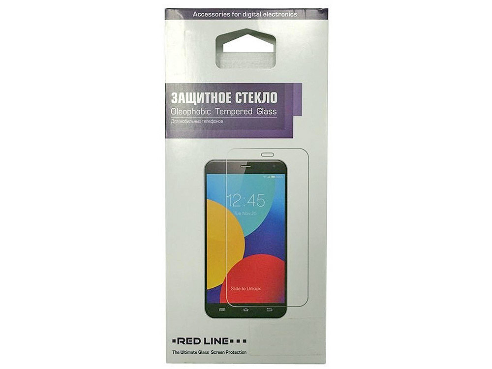 Защитное стекло Red Line для LG Leon tempered glass защитное стекло red line samsung galaxy j7 2017 full screen tempered glass черный