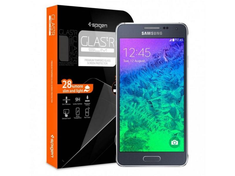 Защитное стекло SGP для Samsung Galaxy Alpha SGP11092 sgp steinheil ultra optics sgp07673 защитная пленка для samsung galaxy s2