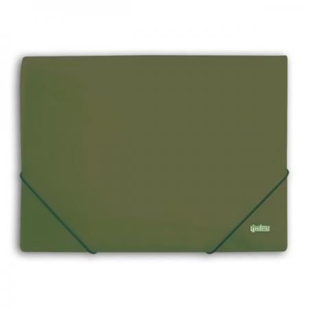 Папка на резинках METALLIC, зеленая 6 pcs semi metallic motorcycle front