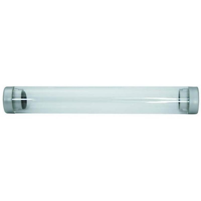 Футляр для одной ручки, прозрачный цилиндр, длина 155 мм, диаметр 22 мм, пластиковый футляр для ручки жен cheribags цвет бордовый 04к 1018 33