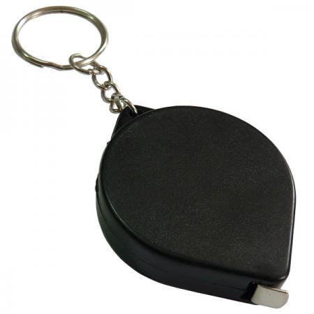 Фото - Брелок-рулетка, пластик, черный брелок многофункциональный hi tech dt 377