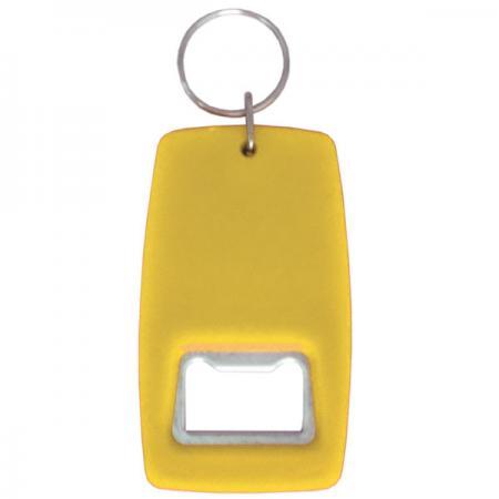 Открывашка-брелок, желтый цена