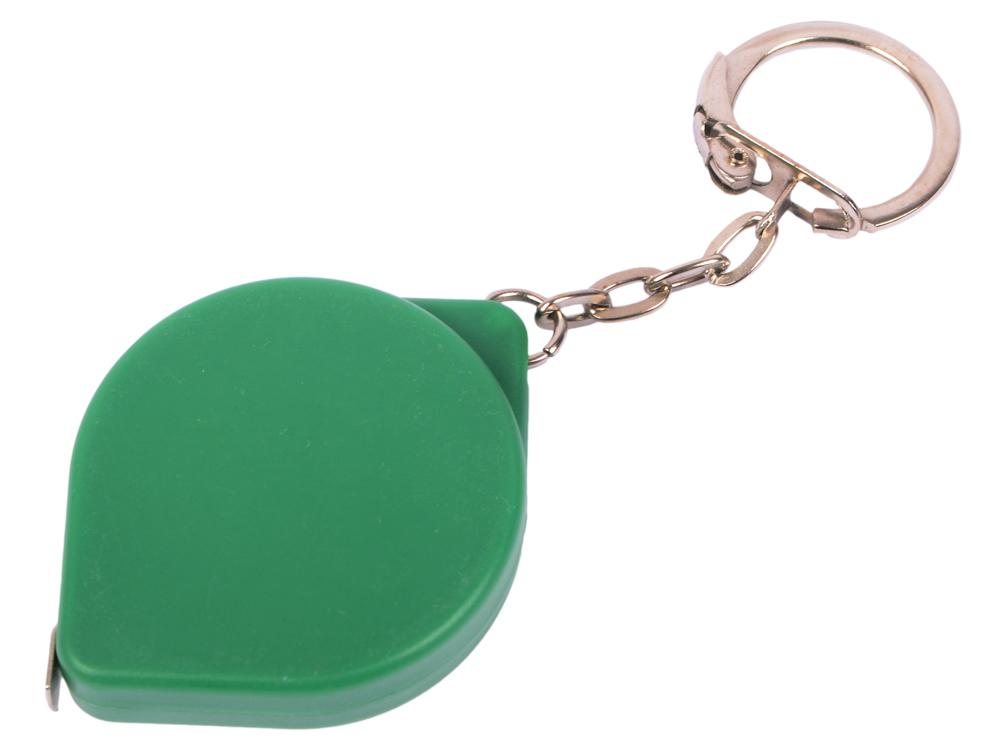 Брелок-рулетка, пласт., зел. карманный рулетка практическая брелок брелок кольцо брелок брелок держатель