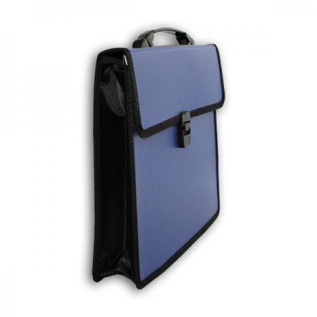 Папка-портфель без отделений, А4, ассорти портфель office point exclusive пластиковый картотека на 12 отделений
