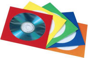 все цены на Конверты Hama для CD/DVD бумажные с прозрачным окошком 5 цветов 25шт H-78367
