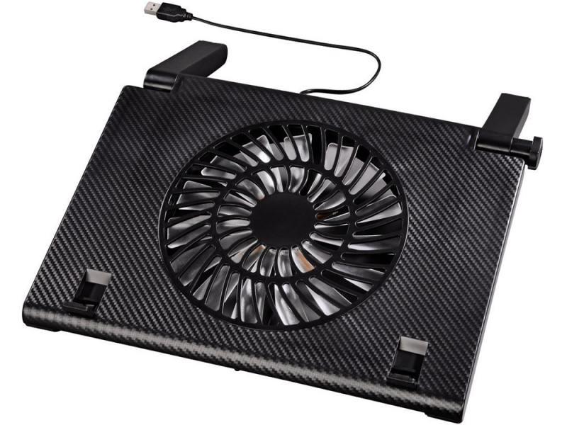"""Подставка для ноутбука 15.6"""" Hama H-54116 охлаждающая черный"""