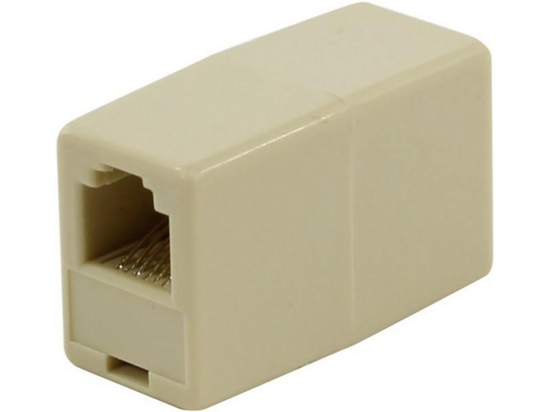 Адаптер проходной RJ-12 6P6C - 6P6C 5bites LY-US021 адаптер проходной rj 45 8p8c f 2f 5bites ly us027