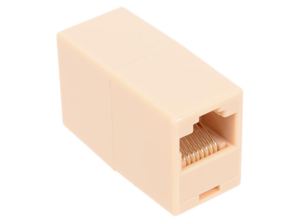 Адаптер проходной RJ-45 8P8C - 8P8C 5bites LY-US022 адаптер проходной rj 45 8p8c f 2f 5bites ly us027