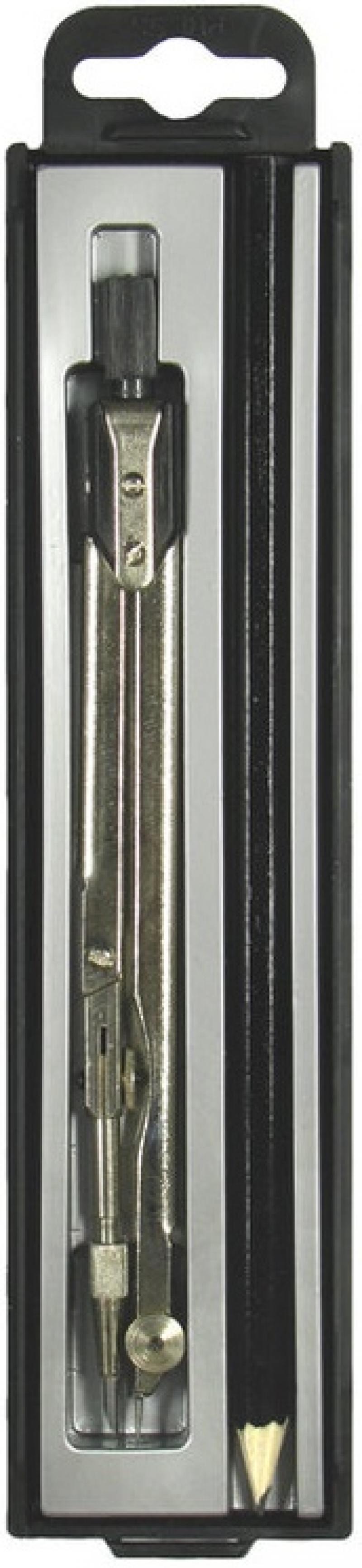 Набор чертежный ТЕХНИКА, 2 предмета (НЧ-2-Ш-11), для студентов, пластм. футляр с европодвесом brauberg набор чертежный 4 предмета 210306