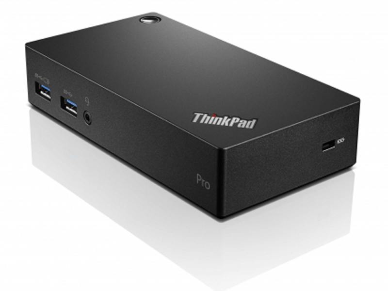 Док-станция Lenovo ThinkPad USB 3.0 Pro Dock 40A70045EU док станция lenovo thinkpad basic dock 40a00065eu 65вт черный