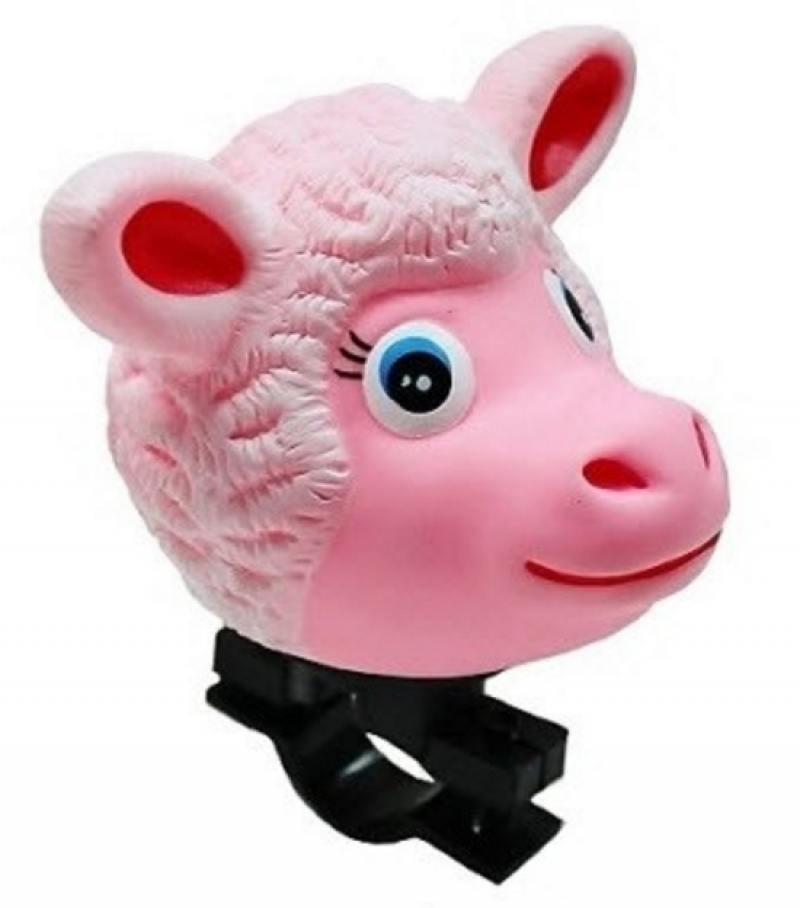 Клаксон RichToys Овца розовый CB-3030 клаксон 2 12v