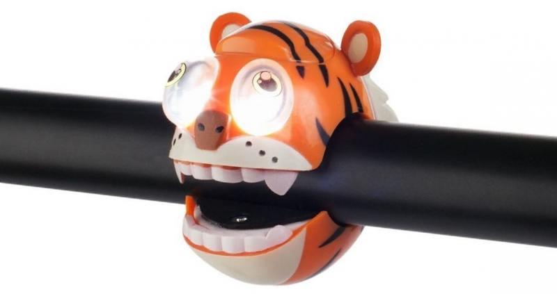 Фонарик Crazy Stuff TIGER light с брелком оранжевый 320240 stuff