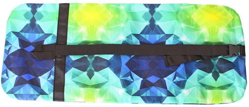 Чехол-портмоне Y-SCOO для самоката 180 - Diamond Emerald разноцветный складной princesas y villanos tulua