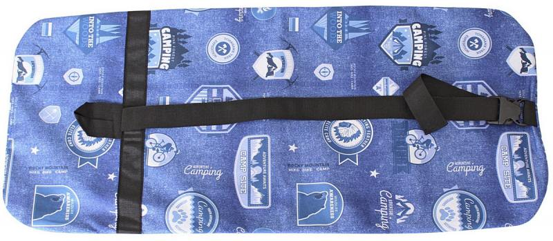 Чехол-портмоне Y-SCOO для самоката 180 - Бирки Джинс разноцветный складной y scoo rt чехол портмоне складной для самоката y scoo 180 clio серый