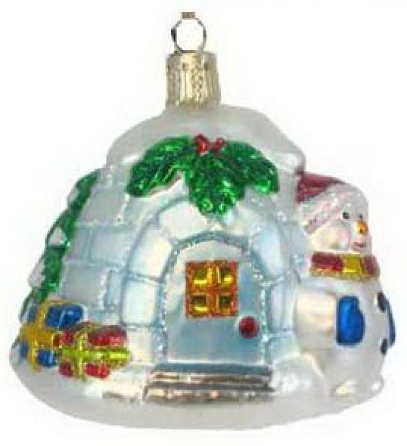 ЛЕДЯНОЙ ДОМ со снеговиком, стеклянный, 1 шт., 10 см кристина ульсон стеклянный дом