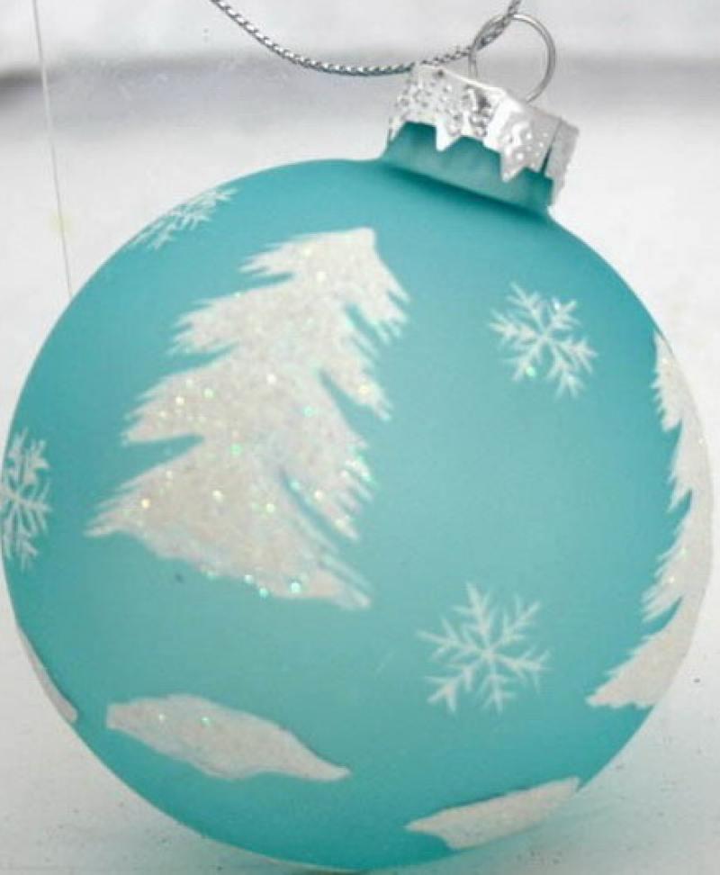 Украшение елочное стеклянное ШАР, 1шт., 7 см|2 плоская фляжка activities gift hip flask 7 drinkware box 125 2