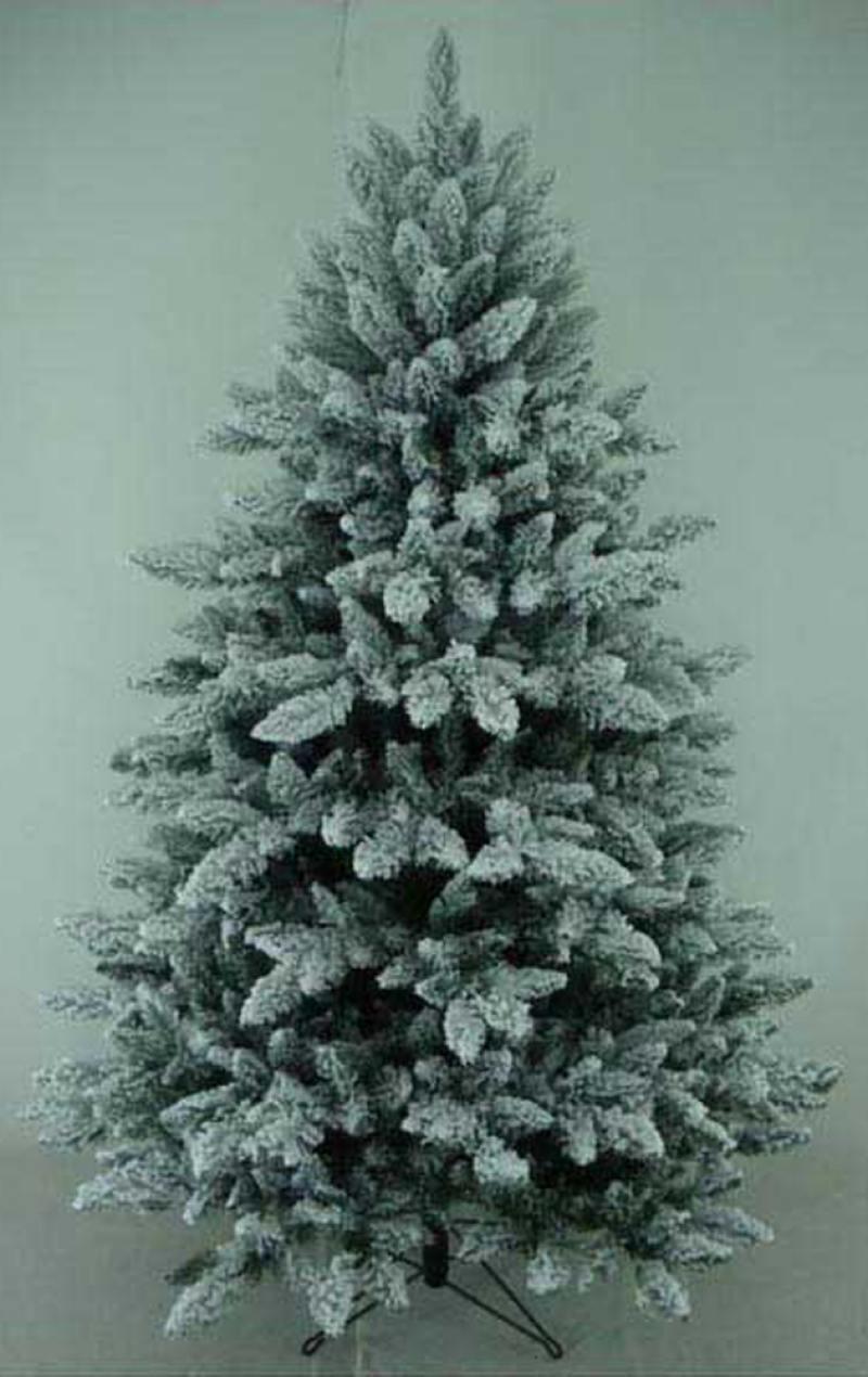 Елка заснеженная, 761 ветка, 150см, на металлической подставке елка искусственная 150см royal christmas spitsbergen 420165