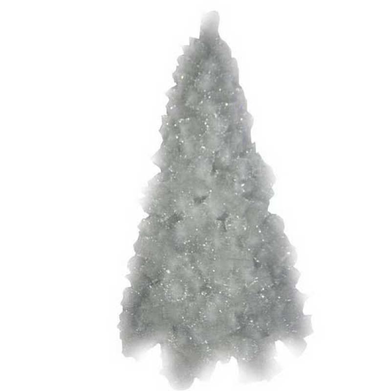 Сосна белая с серебряным инеем,228 веток, 150 см сосна winter wings n03189 зеленый 40 см с инеем