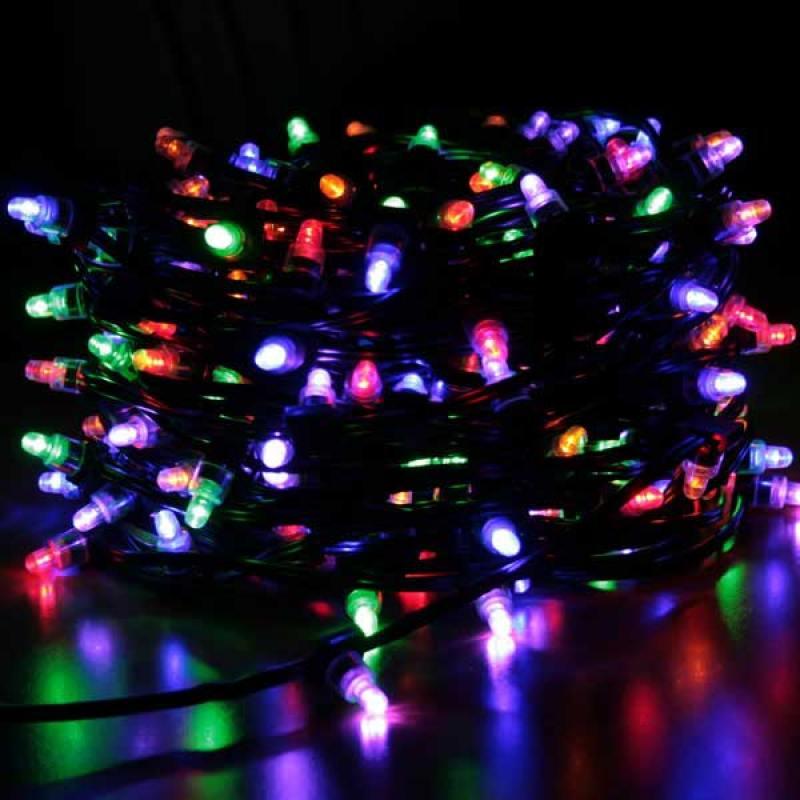 Гирлянда для деревьев уличная LED CLIP LIGHT, 50 м, зеленый кабель|2 honsco g9 5w 400lm 84 smd 2835 led 3000k warm white light corn bulb ac 85 265v