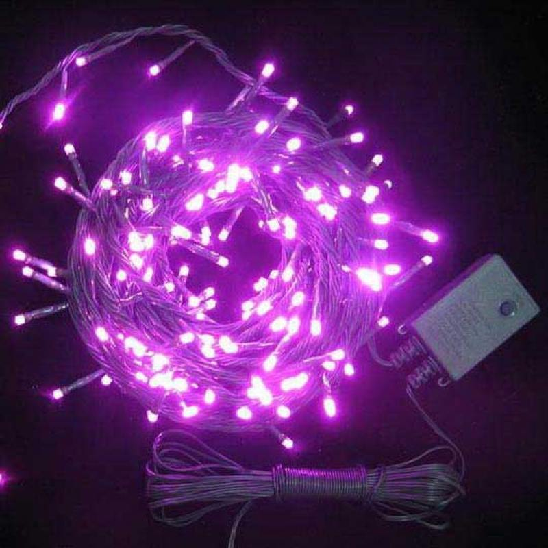 Гирлянда электрическая с супер-яркими лампами, 100 ламп, красные, 6.5 м цена