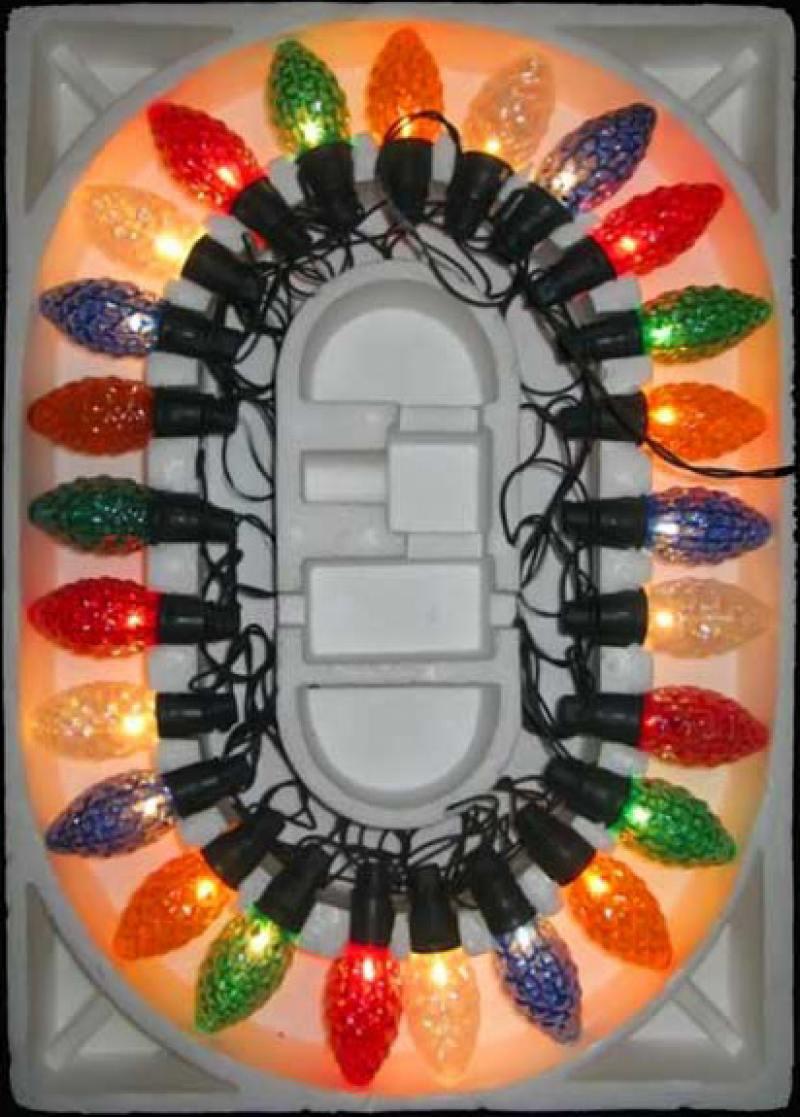 Гирлянда электрическая шишка-ромашка, 20 ламп, прозрачная, цветная, с контроллером, 2,8 + 1,5 м гирлянда электрическая vegas нить с контроллером 200 ламп длина 20 м свет холодный 55069