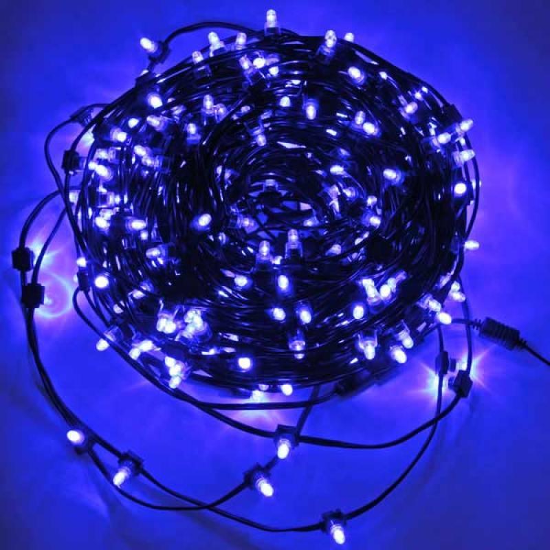 Гирлянда для деревьев уличная LED CLIP LIGHT, 50 м, зеленый кабель|3