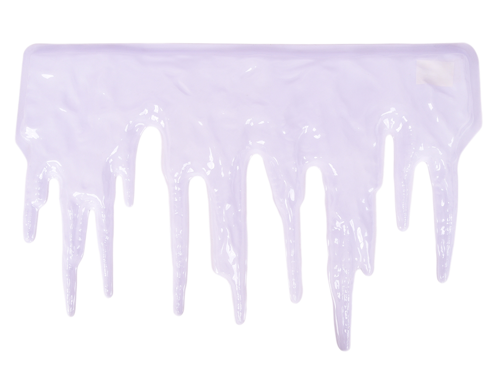 Панно СОСУЛЬКИ, 76х50 см, ПВХ artevaluce панно delores 23х30 см 12 шт