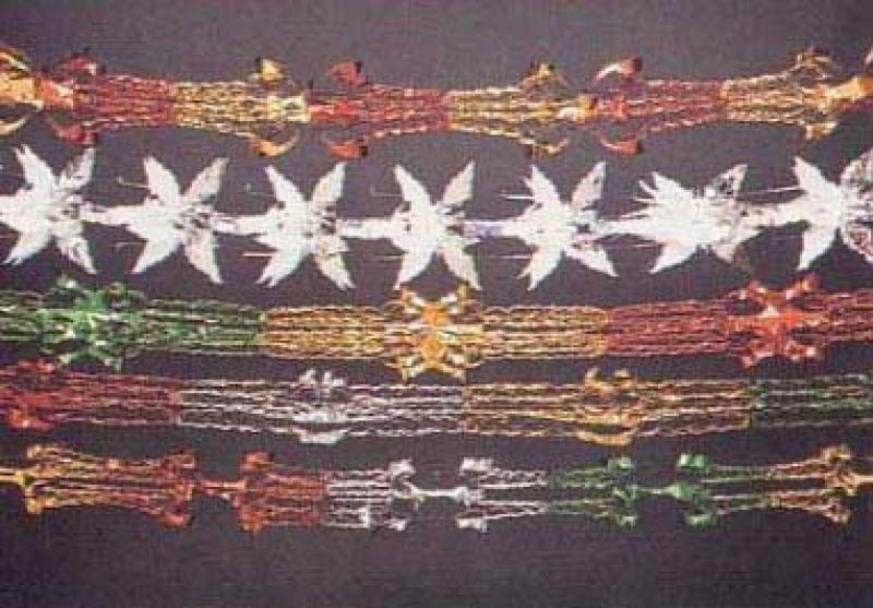 Растяжка Winter Wings декоративная 20х270 см N09162