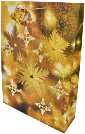 Пакеты подарочные бумажные ламинированные, 330x460x102 мм.|5