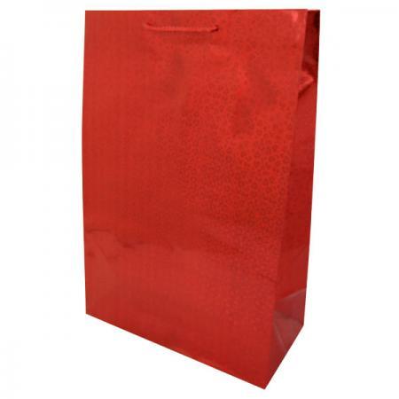 Пакет подарочный бумажный ламинированный голография. Размер: 260*380*127 мм.,6 видов, 1шт. пакет подарочный бумажный голография 11 1 13 7 6 2 см в ассортименте