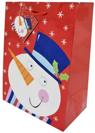 Пакет подарочный бумажный ламинированный, 180х230х98 мм, флокированный с тиснением|1 пакет подарочный бумажный ламинированный 180х230х98 мм с блестящей крошкой с аппликацией