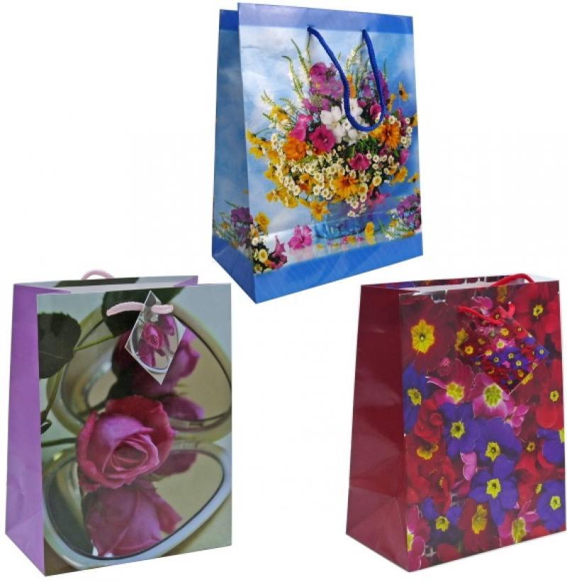 Пакет подарочный Winter Wings BG1373/A 17,8 х 22,9 х 9,8 см пакет подарочный love you forever крафт 30 х 40 х 12 5 см синий