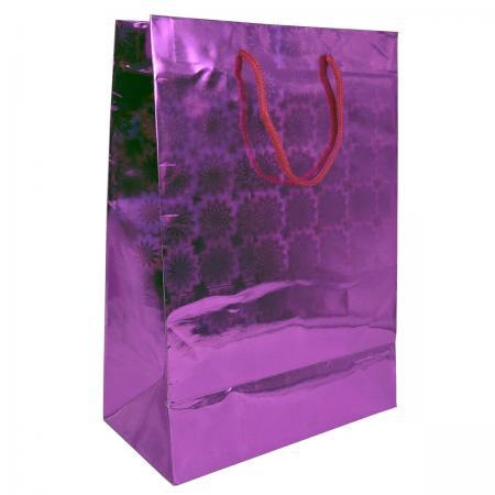 Пакет подарочный бумажный ламинированный голография. Размер: 210*300*110 мм.,6 видов, 1шт. пакет подарочный голография tz9495 32 45 11 6 цветов в ассортименте