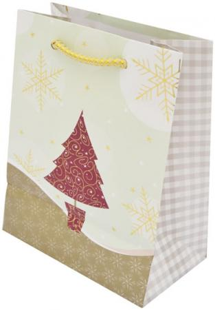 Пакеты подарочные бумажные ламинированные, 111X137X62 мм, с тиснением|2