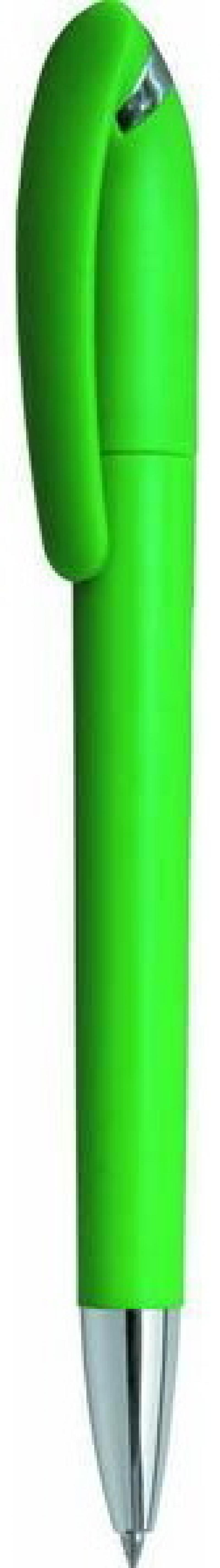 Шариковая ручка автоматическая Index APPLICA синий 0.5 мм IBP302/GN IBP302/GN канцелярия index точилка автоматическая