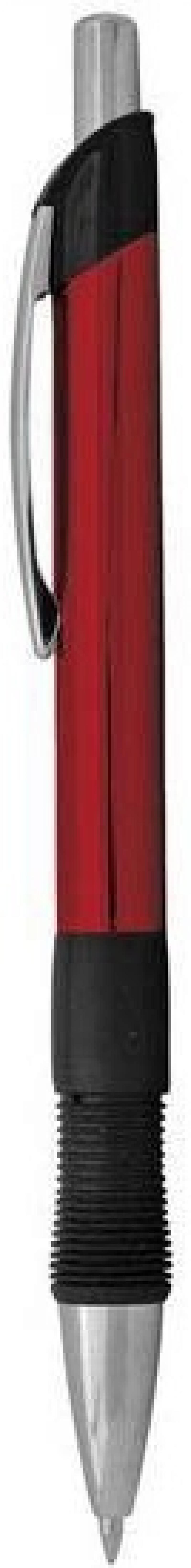 Шариковая ручка автоматическая Index IMWT1132/RD/бшк синий 0.5 мм IMWT1132/RD/бшк канцелярия index точилка автоматическая
