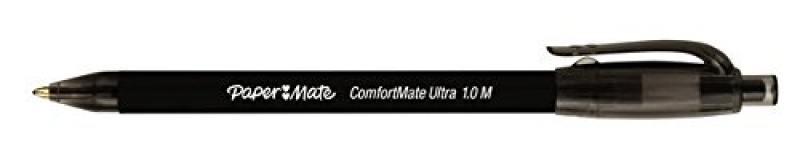 Шариковая ручка автоматическая Paper Mate COMFORTMATE FRESH черный 1 мм PM-S0512261 PM-S0512261