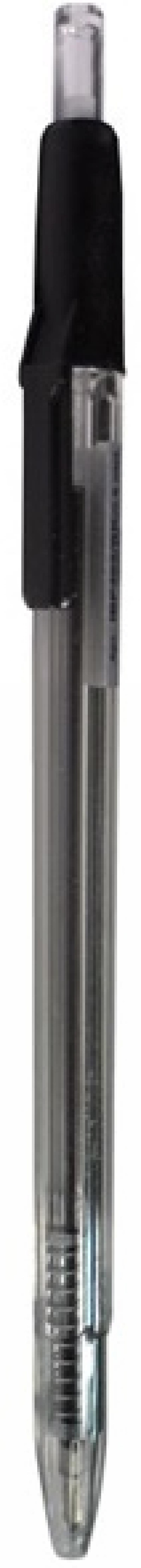 Шариковая ручка автоматическая Index Urbanistik черный 0.8 мм IBP405/BK