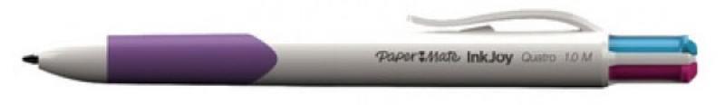 Шариковая ручка автоматическая Paper Mate Quatro разноцветный 1 мм 1842251 x 3309 v folded paper dispenser abs plastic wall mounted paper holder home hotel toilet paper box