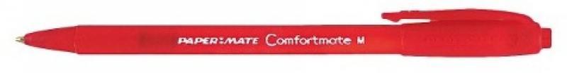 Шариковая ручка автоматическая Paper Mate COMFORTMATE FRESH красный 1 мм PM-S0512271 PM-S0512271 thermal cash register paper printing paper white 80mm