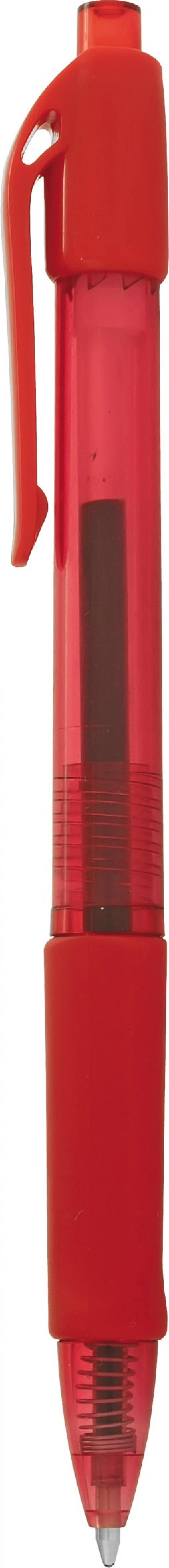 Шариковая ручка автоматическая Index IBP602/RD красный 0.7 мм IBP602/RD шариковая ручка автоматическая index vinson красный 0 7 мм ibp416 rd ibp416 rd